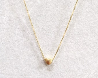 Dainty Heart Necklace ~ Silver/Gold/RoseGold