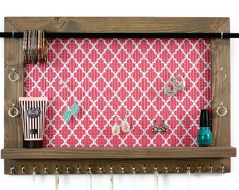 Free Shipping - Jewelry Shelf Organizer - Home Decor Shelf
