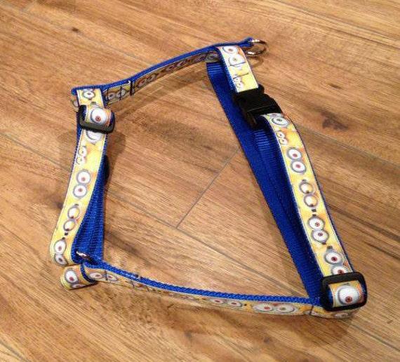 Items similar to Minion dog harness, large on Etsy