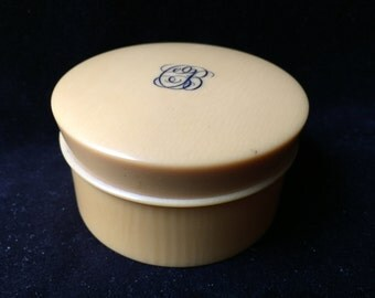 Vintage Powder Jar or Trinket Box