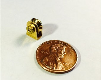Miniature Brass Pulley