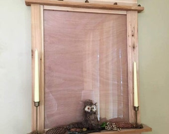 Rustic Window Picture Frame/Dry Erase Board
