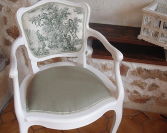 RENOVATED vintage Chair - pattern for inspiration