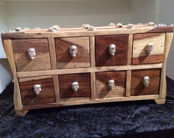 Holzboxe teak wood