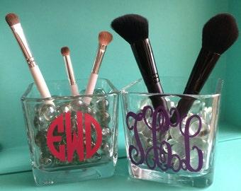 Personalized Makeup Brush Holder