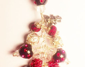 PC00006 Hot Pink Purse Bag Charm