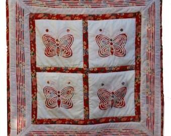modern Butterfly quilt
