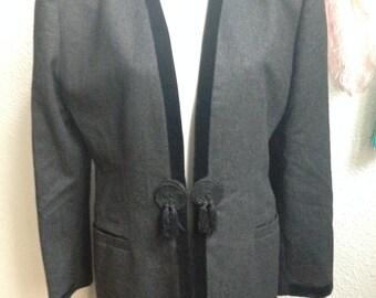 VINTAGE BLAZER grey with special lock