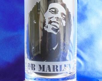 BOB MARLEY GLASS