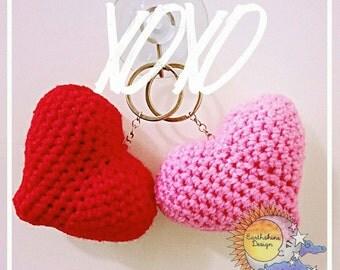 Stuffed Heart Keyrings
