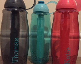 Personalised drinks bottles