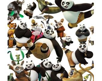 Kung Fu Panda 50 images сlipart