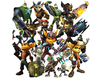 Ratchet and Clank clipart