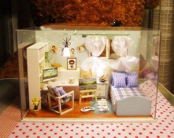 Dollhouse Miniature Kit Cover Light Heart of Ocean DIY