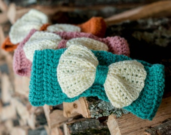 Chunky Headbands with bow