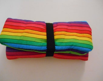 Rainbow Stripe Pipe Pouch