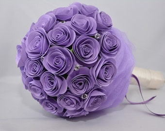 Handmade paper Roses Bouquet