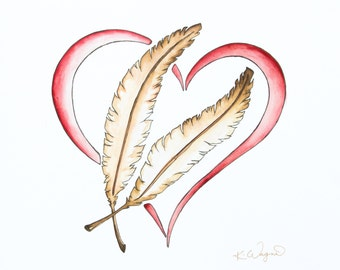 104 HEART & FEATHER