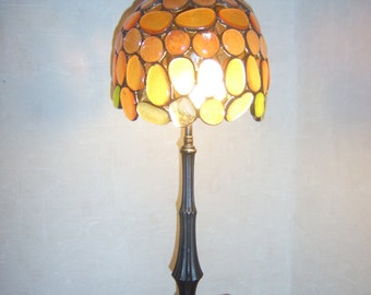 Handmade Tiffany style table lamp Beistellampe