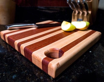 cutting board, butcher block, serving tray