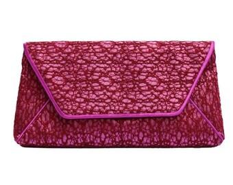 Vintage Lace Clutch