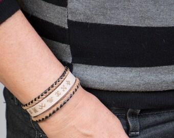 GENUINE LEATHER bracelet ''Classic''