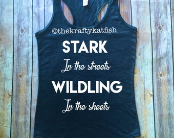 Personalized Game of Thrones Racerback Tank Top