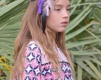 Violet~ headband