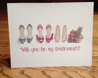 Will You Be My Bridesmaid? - shoes - 10 ct.
