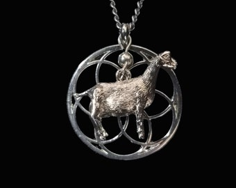 Dairy Goat Forever Necklace