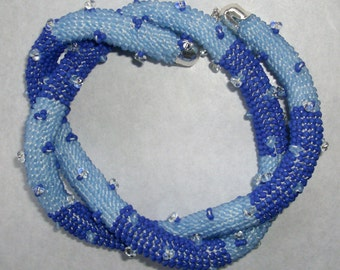 Blue variation Collier/Bracelet