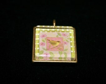 Yellow Finch Medallion