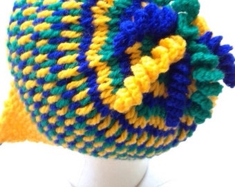 Multi - Coloured Gum Drops Hat