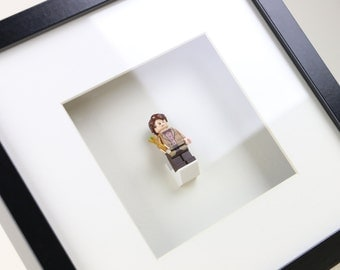 Doctor Who, The Eleventh Doctor, Matt Smith LEGO Minifigure Frame