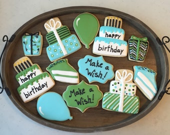 Make A Wish Birthday Cookies (1 dozen)