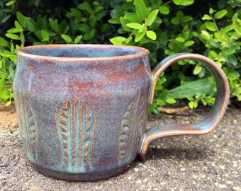 Blue Iron Funky Mug