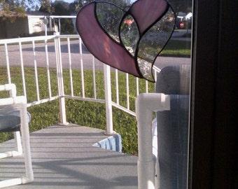 Confetti glass hearts