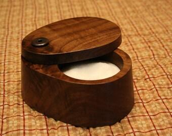 Walnut Salt Box