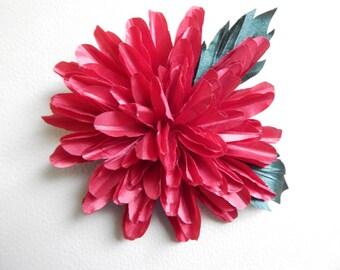 Textile decoration/flower flower brooch
