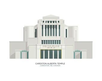Cardston Alberta Temple (digital file)