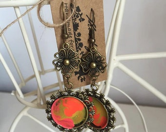"Handmade Earrings ""Colorful"""