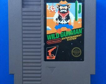 Wild Gunman NES Nintendo