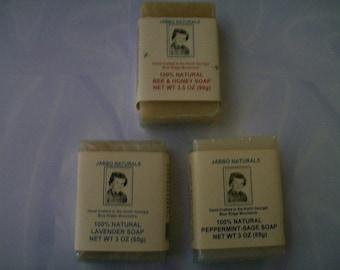 Handmade soaps 3.5oz