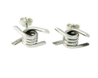 Barbed Wire Stud Earrings