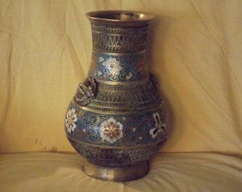 Antique Cloisonne Vase