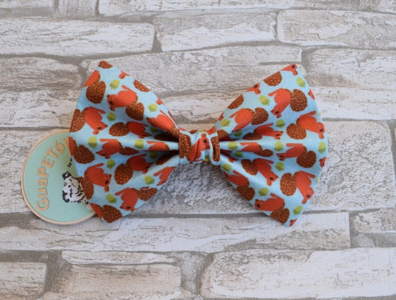 """Bow Tie Bowtie """"Squirrel"""" for dogs, cats or other pets"""