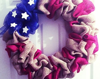 SALE! Patriotic Wreath