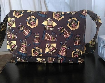 Doctor Who Dalek Messenger Bag