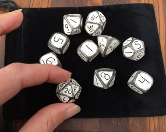10 pc. D'20 Dice Set/Dungeons and Dragons Dice/Gaming Dice