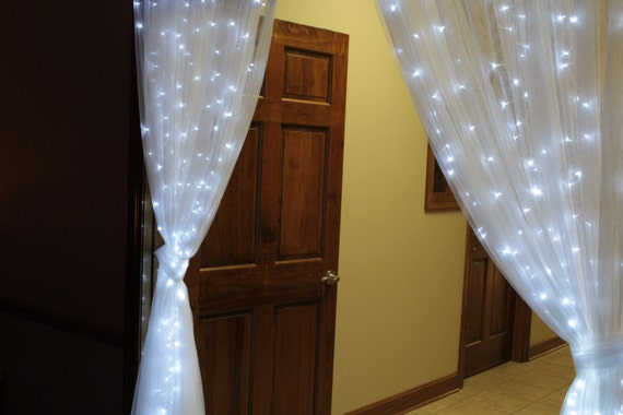 Double Sided Lighted Curtains